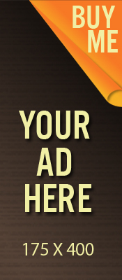 BANNER AD SPACE 175 x 400