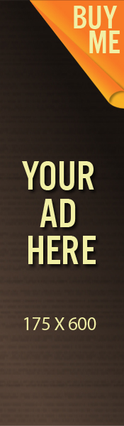 BANNER AD SPACE 175 x 600